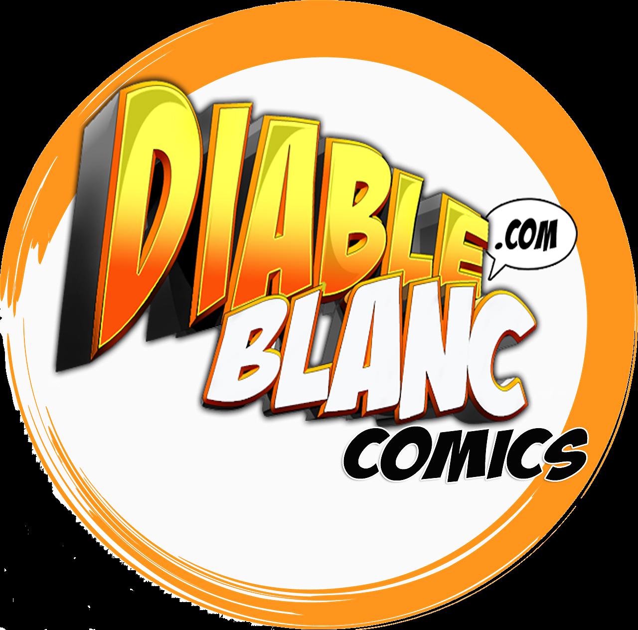 logo diable blanc comics